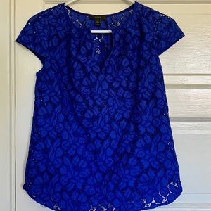 J. Crew lace blouse
